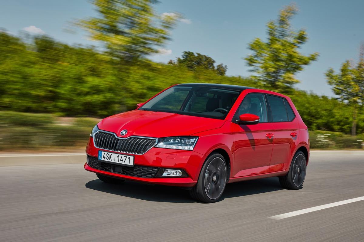 SKODA FABIA 1,0 TSI 70 kW (95 PS) jetzt auch mit Direktschaltgetriebe erhältlich