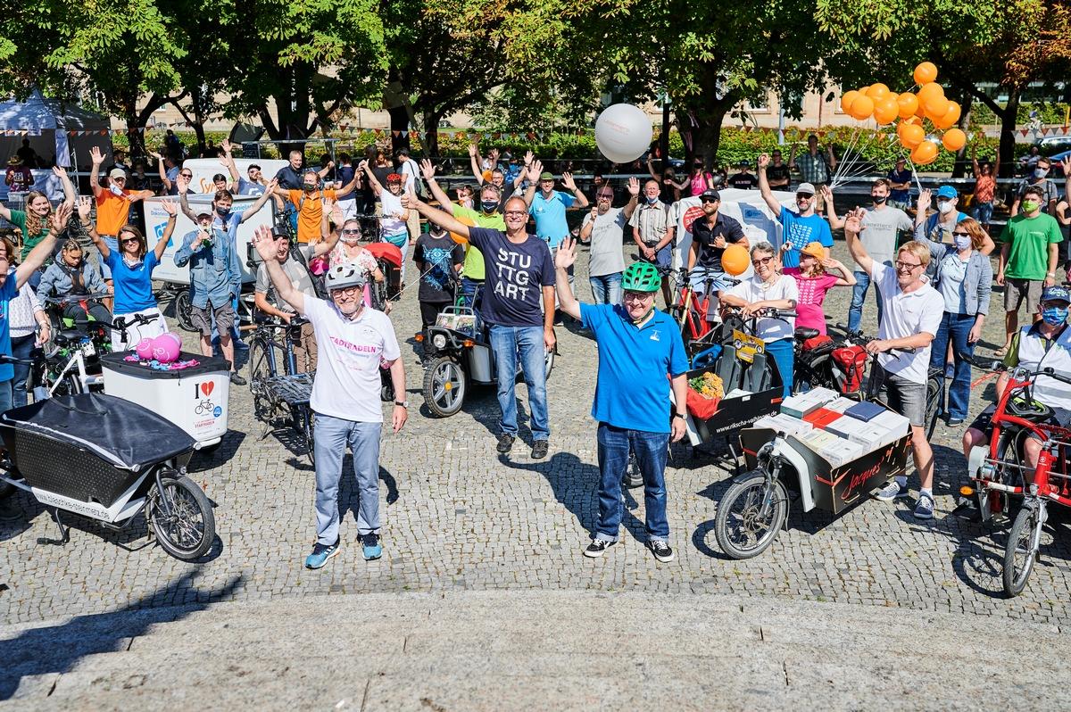 Land Baden-Württemberg fördert Lastenräder