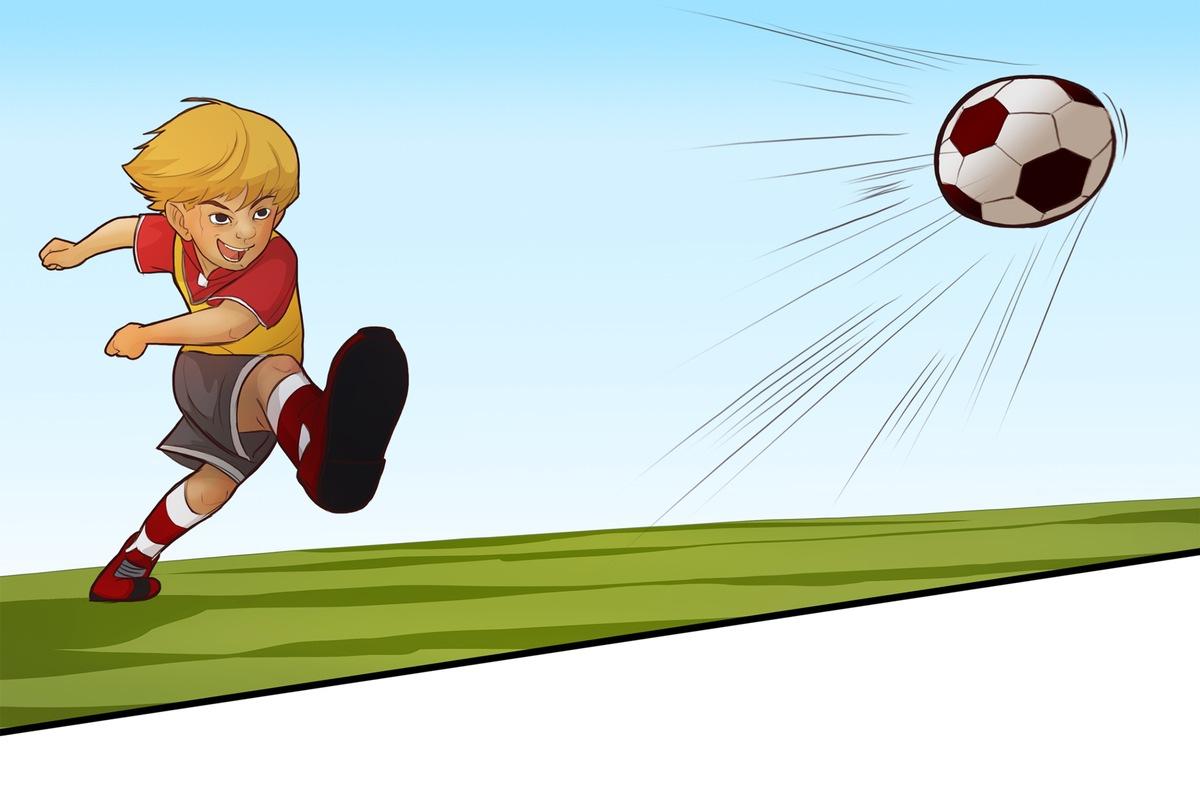 Fussball Helden Comic Mehr Als Nur Das Runde Leder