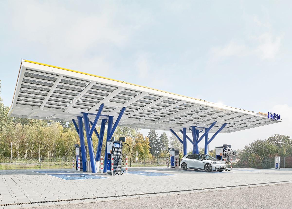 EnBW eröffnet neuen Flagship-Ladepark am Verkehrsknotenpunkt Stuttgart