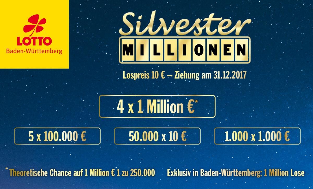 Silvester Millionen Baden Württemberg