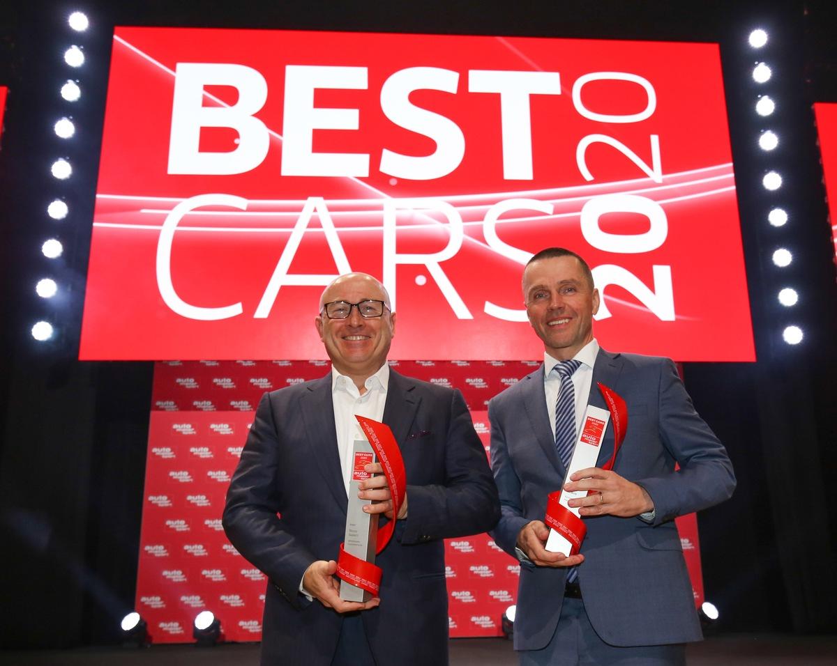 Doppelsieg für SKODA bei Leserwahl ,Best Cars'