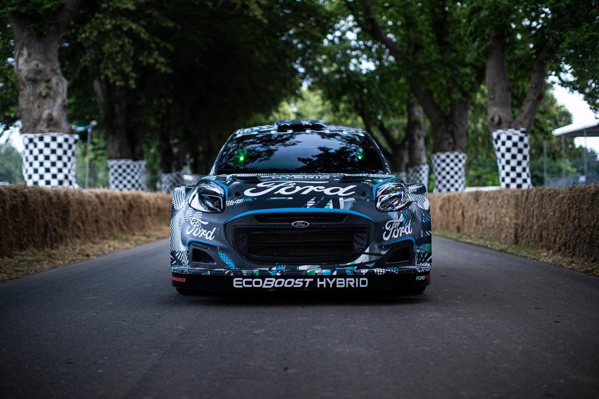 Ford Puma Rally1 mit Hybrid-Technologie