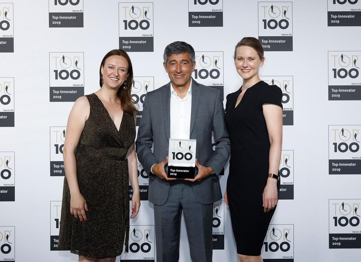 Auszeichnung: simpleshow gehört zu den TOP 100   Presseportal