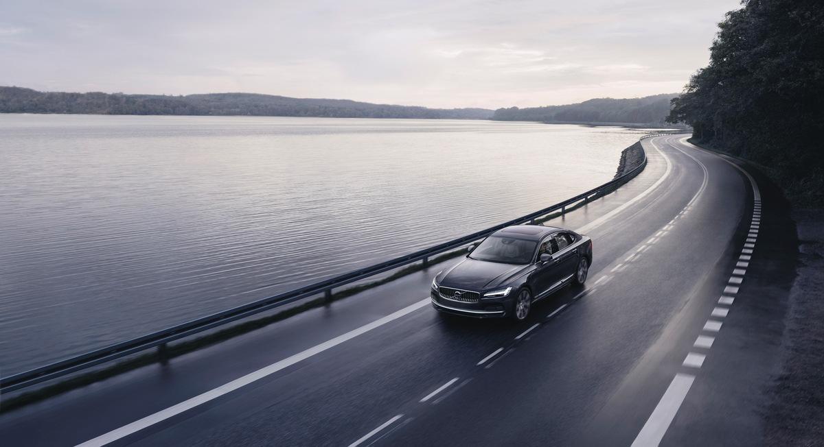 Alle neuen Volvo Modelle bei 180 km/h abgesichert