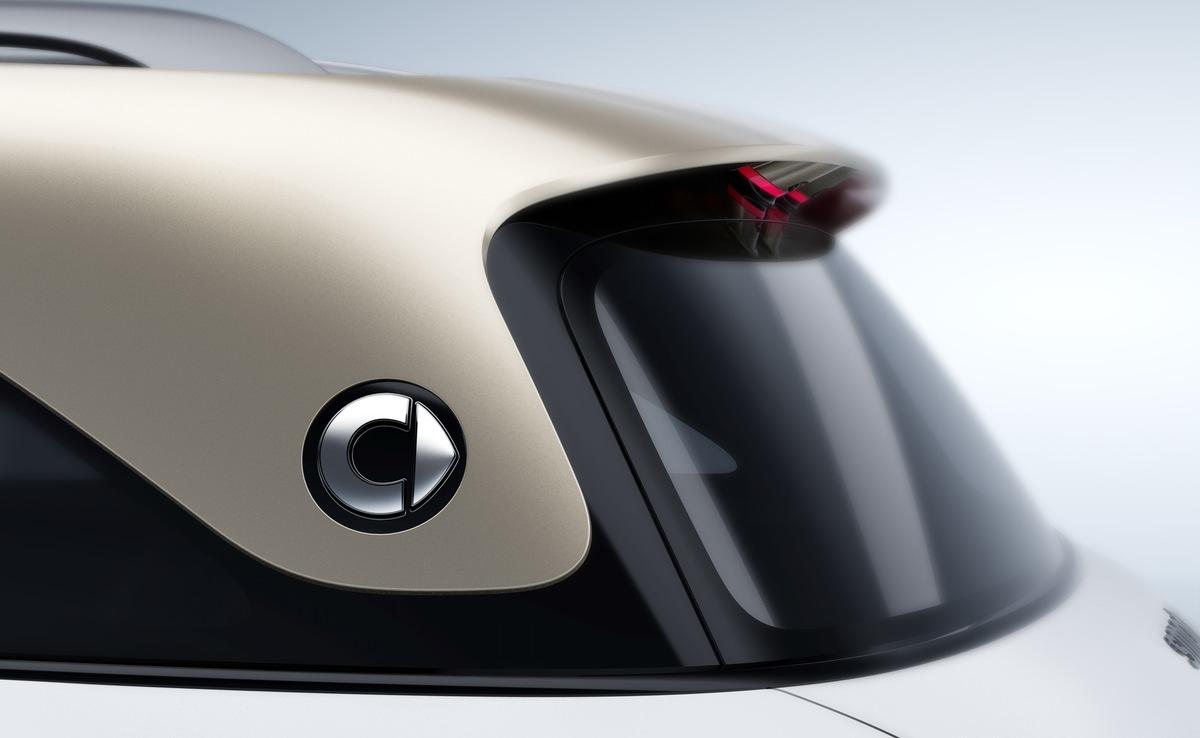 smart gibt ersten Ausblick auf vollelektrisches SUV-Konzept