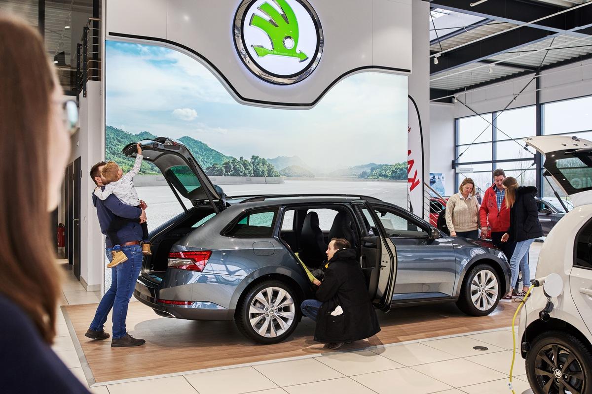 185.000 Besucher erleben beim SKODA Buffet die Jubiläumsmodelle DRIVE 125 und weitere Neuheiten