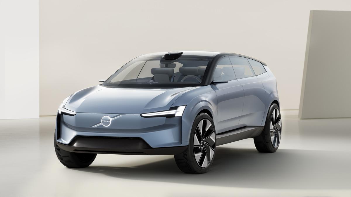 Blick in die vollelektrische Zukunft: das Volvo Concept Recharge