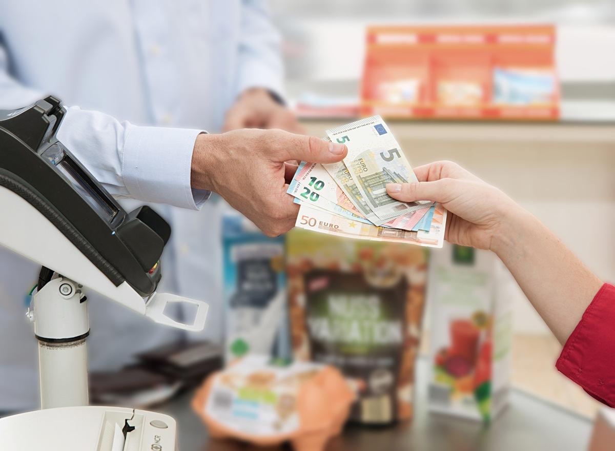 Bargeldauszahlung
