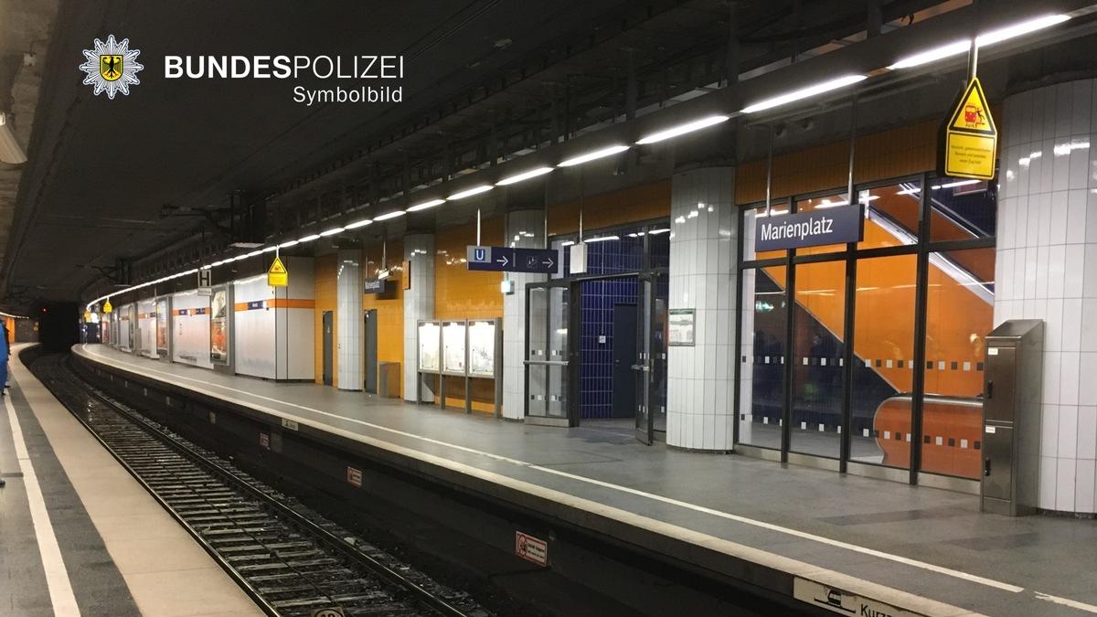 Bundespolizeidirektion München Personenunfall Am