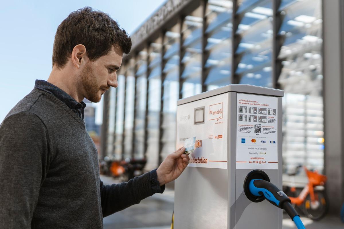 Spontan das E-Auto laden: Kartenzahlung entspricht den Gewohnheiten von Elektromobilisten