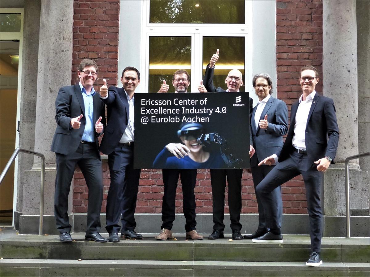 Industrieinitiative '5G for Germany' von Ericsson wird fünf Jahre alt