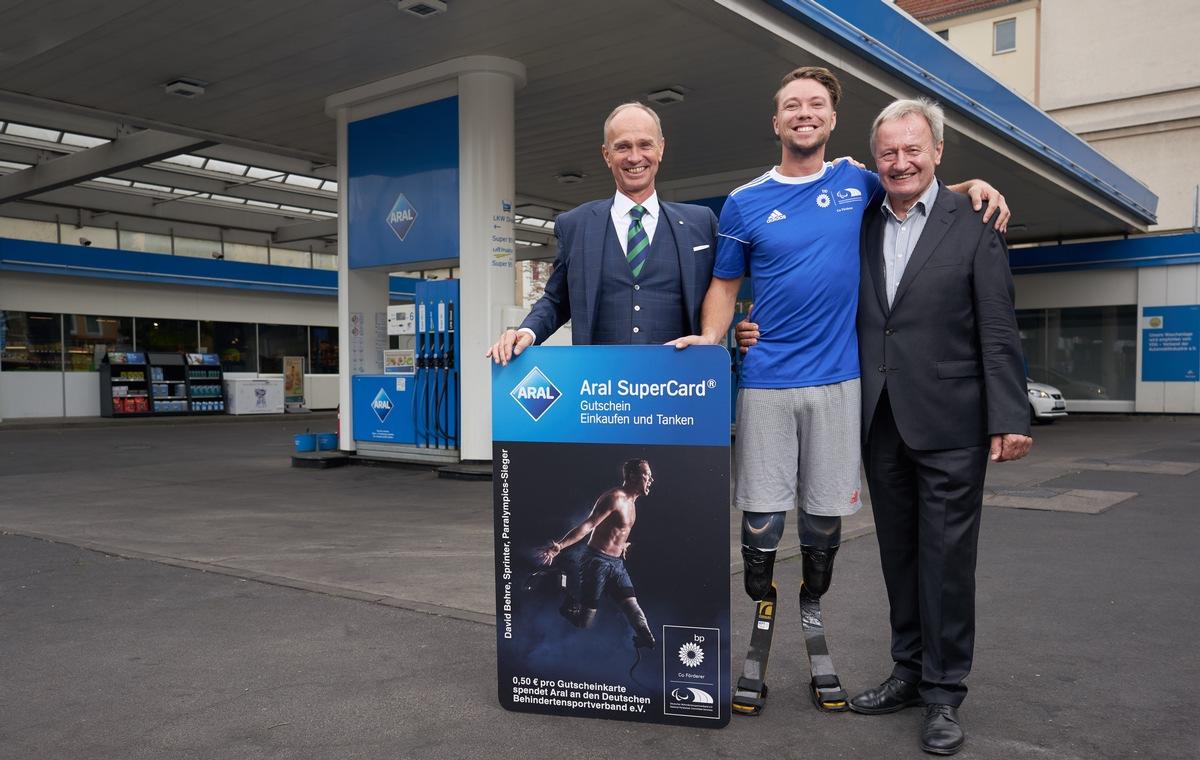 Rabattgutschein Beförderung fairer Preis ▷ Sonderedition zur Para Leichtathletik-EM in Berlin: Aral ...