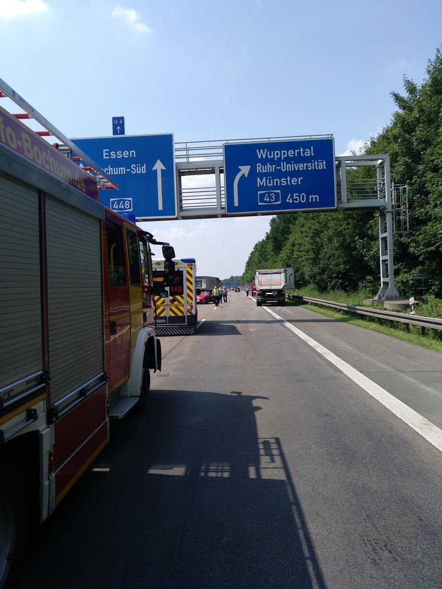 Verkehrsunfall A44