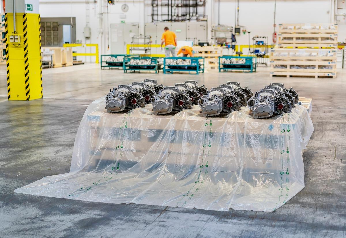 SKODA AUTO verpackt Teilelieferungen nach Indien in biologisch abbaubare Folien
