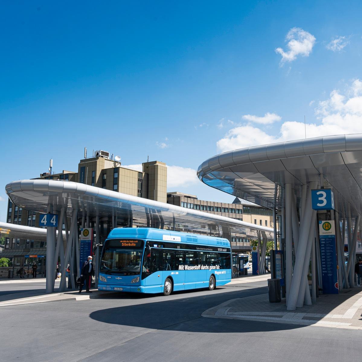 100 Tage-Bilanz: WSW-Wasserstoffbusse auf Erfolgsspur