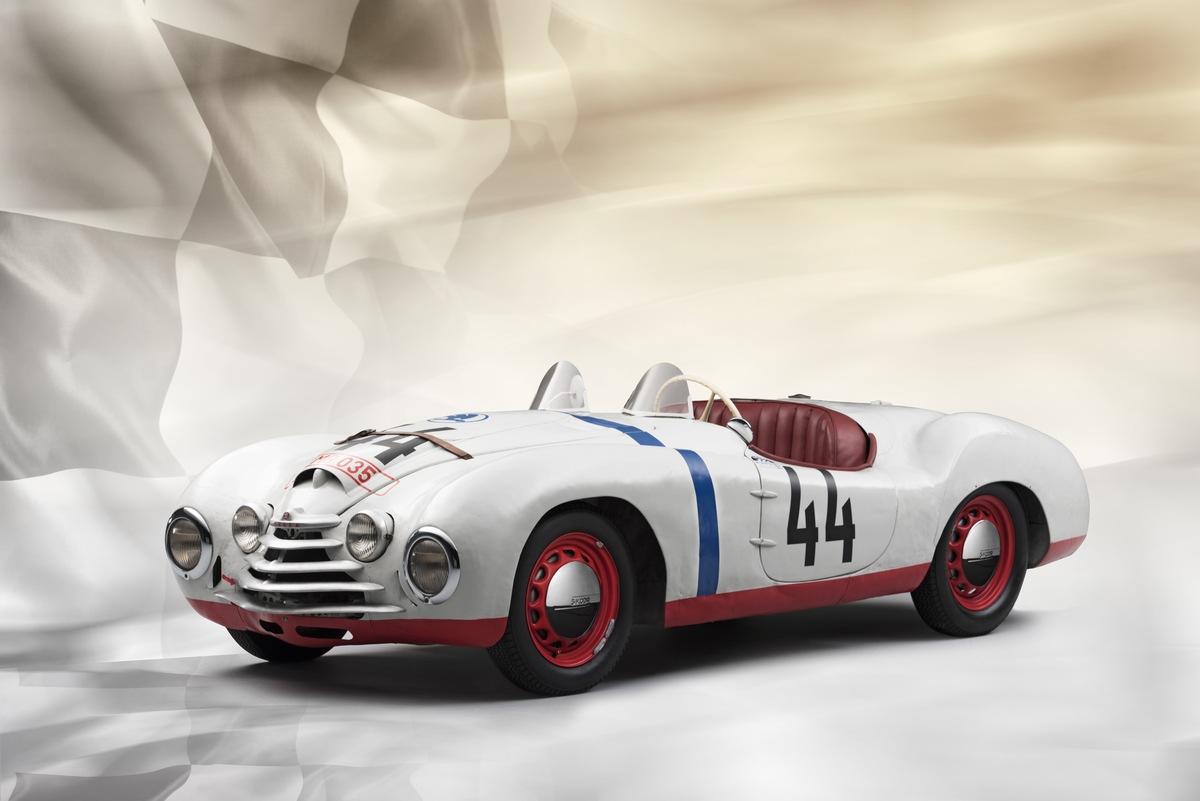 Vor 70 Jahren startete SKODA zum einzigen Mal bei den berühmten 24 Stunden von Le Mans