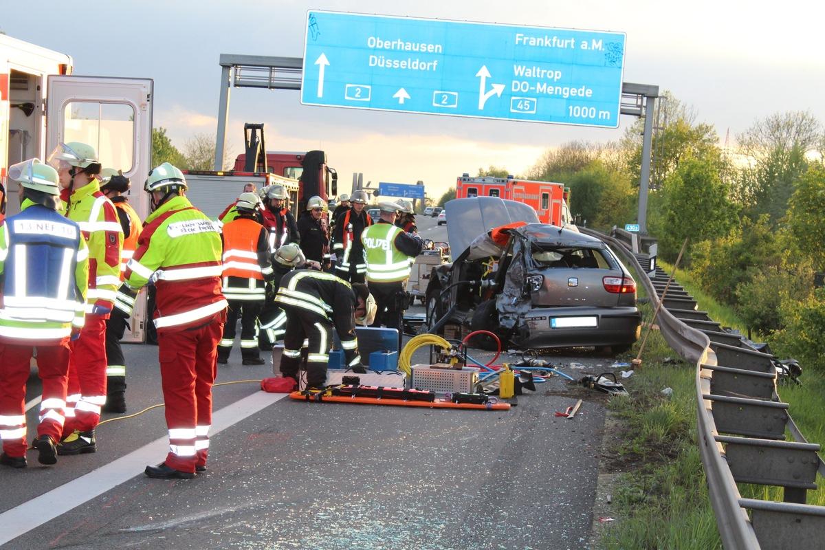 Autobahn Unfall Aktuell