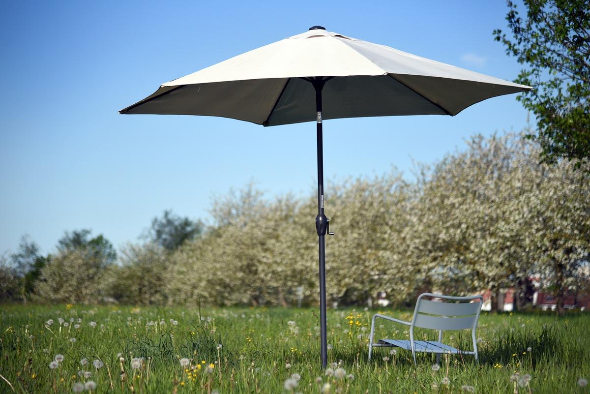 ▷ Schattenspender Sonnenschirm   gut geschützt auf Balkon und ...
