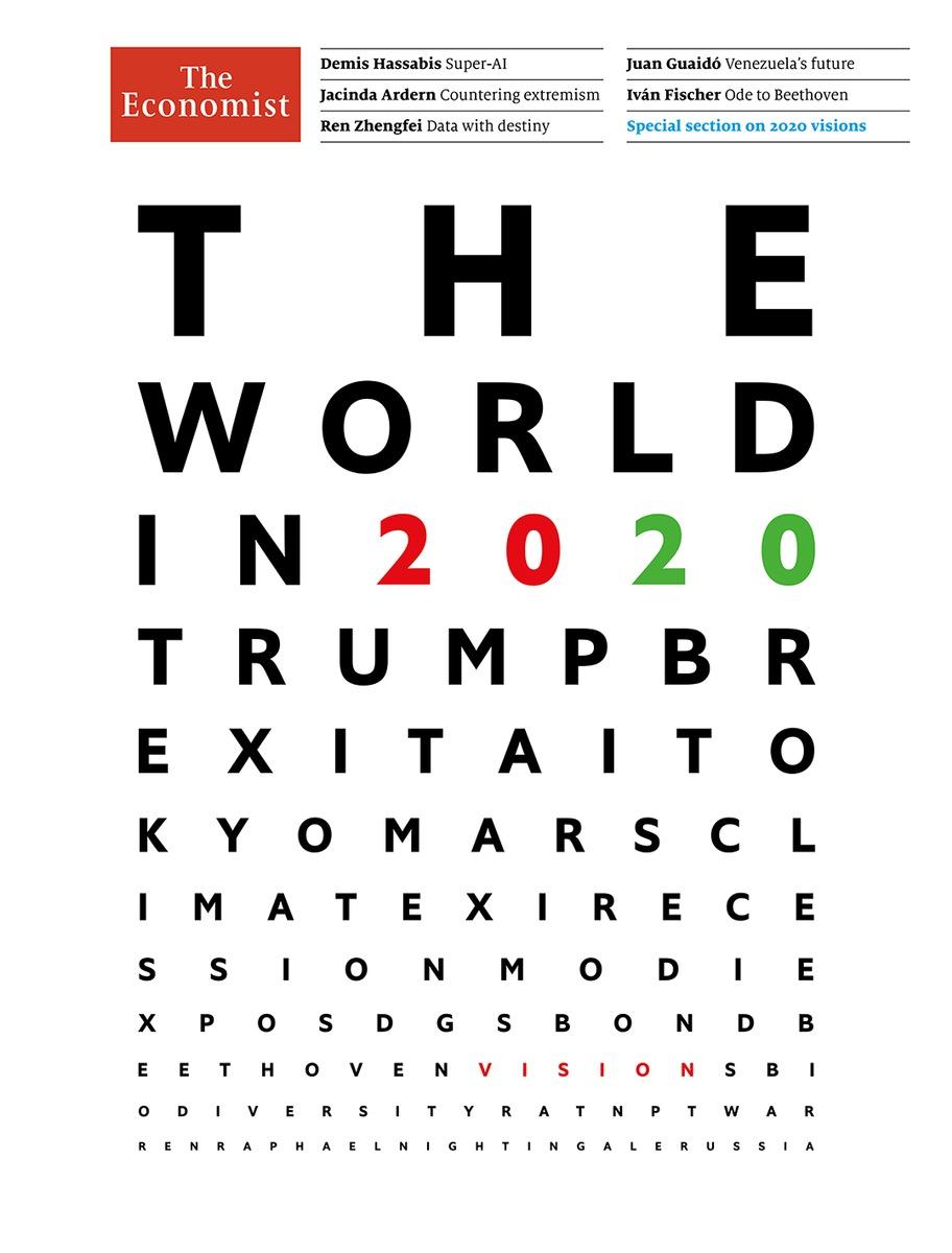 """Imagini pentru the economist 2020 cover"""""""