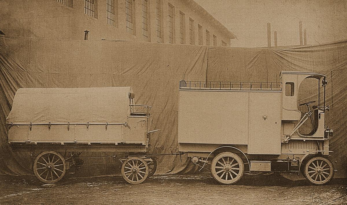Weniger bekannte Modelle aus 125 Jahren SKODA AUTO: die ,Cerna Hora-Montenegro'-Omnibusse und -Transporter