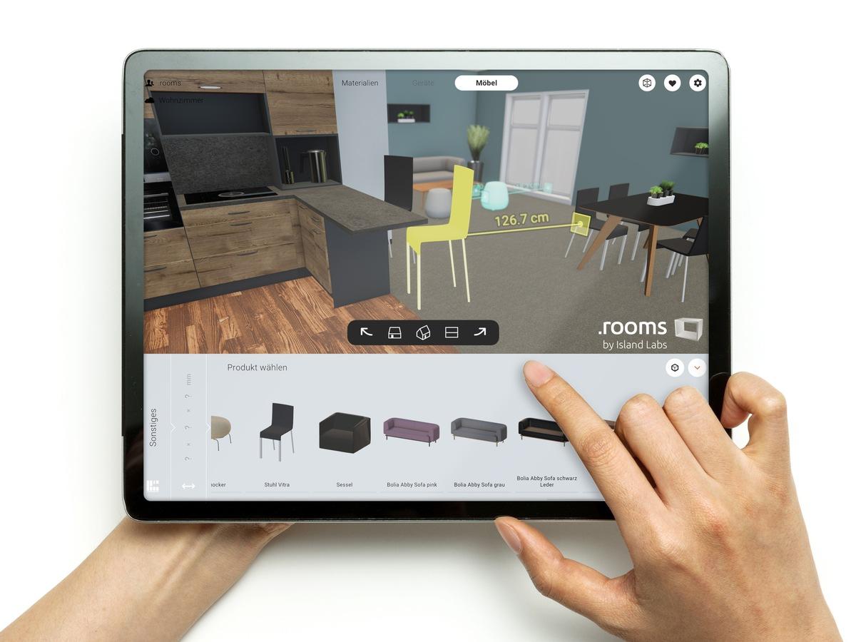 ▷ .rooms online neue Anwendung von Island Labs stärkt ...