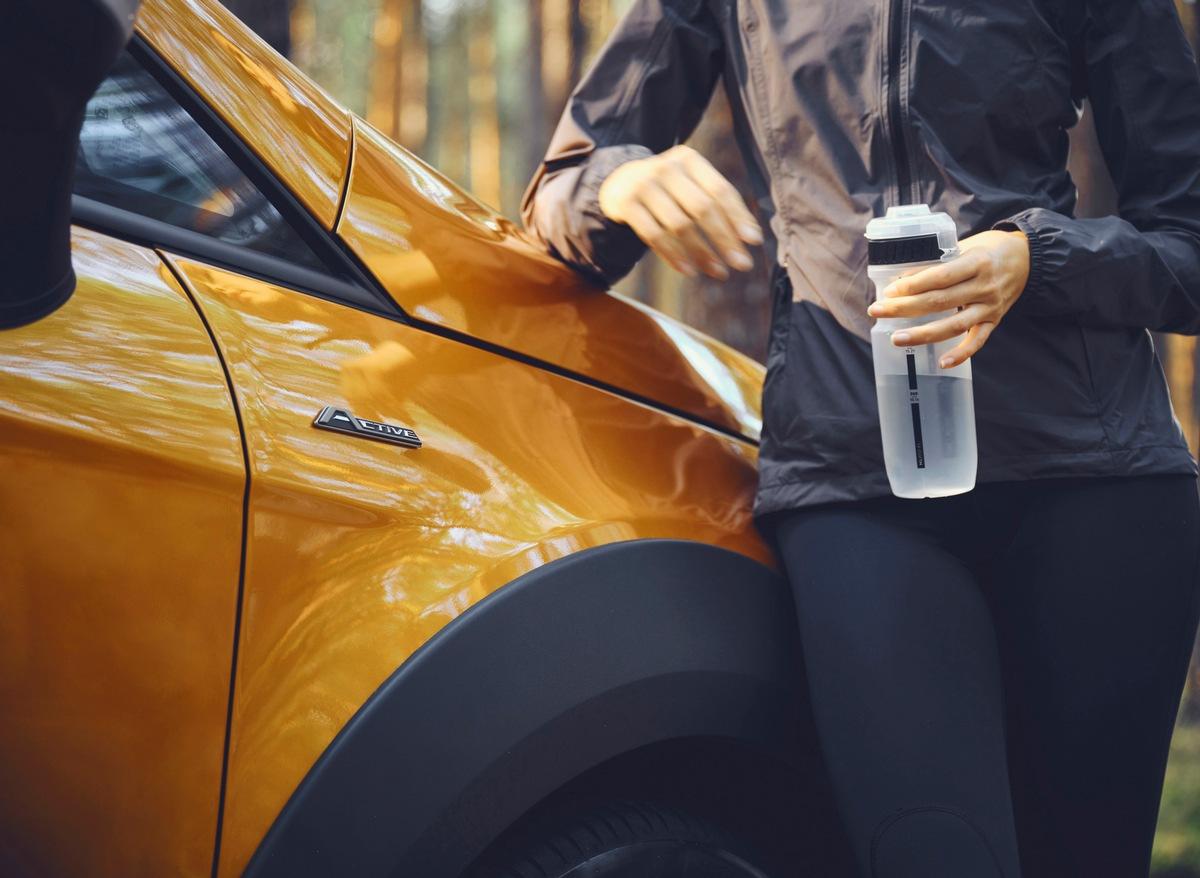 Zuwachs für die Active-Ausstattungsfamilie von Ford: der neue EcoSport Active