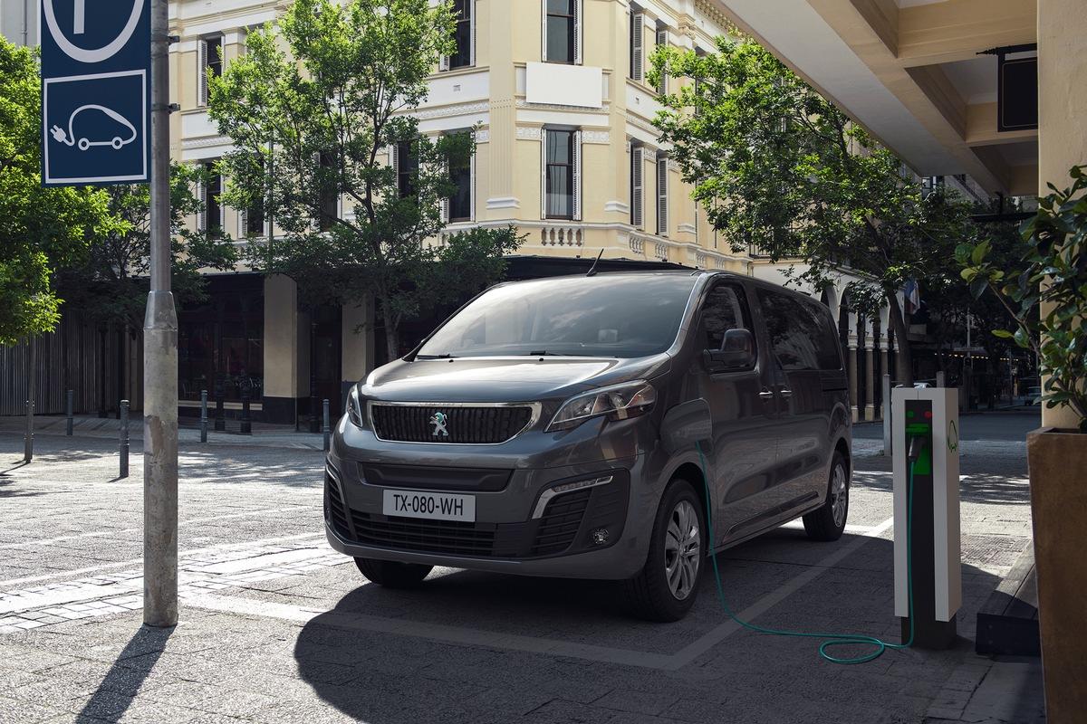 Neuer PEUGEOT e-Traveller: PEUGEOT elektrifiziert seinen großen Van