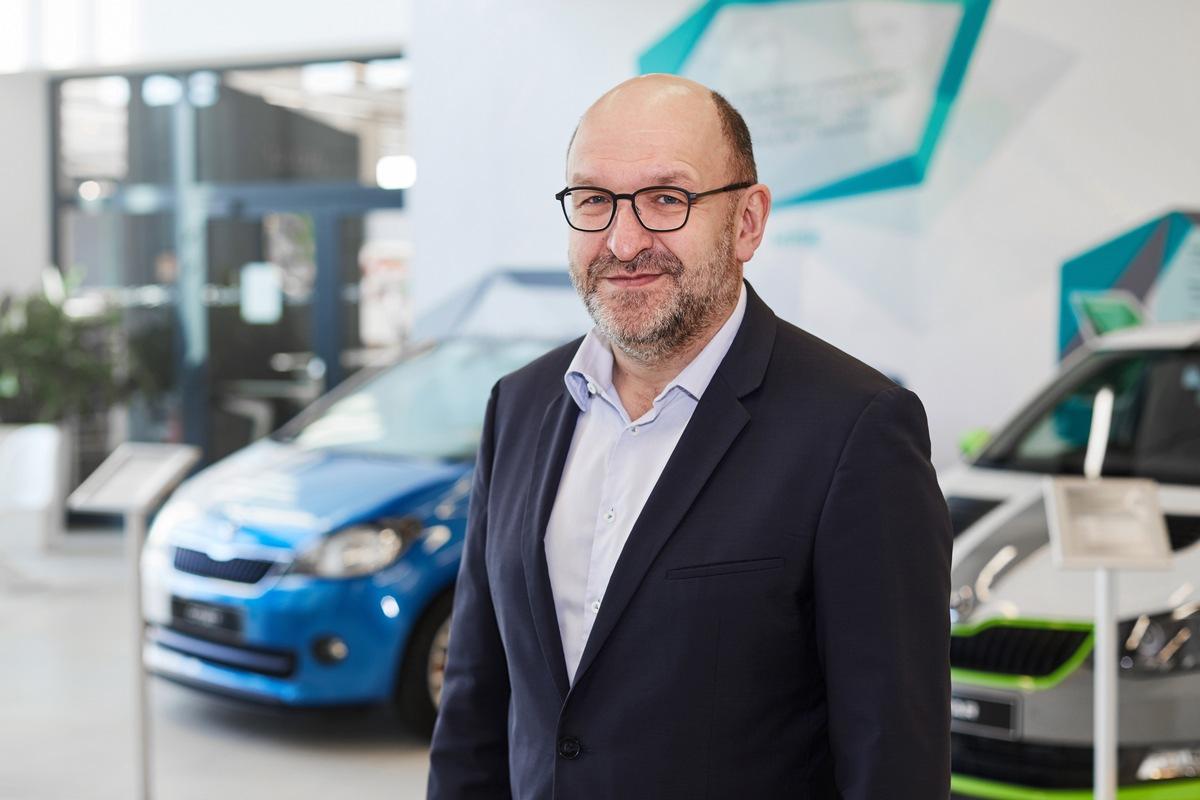 Interview mit Alois Kauer, neuer Leiter der SKODA Akademie und Schirmherr des Azubi-Cars 2020