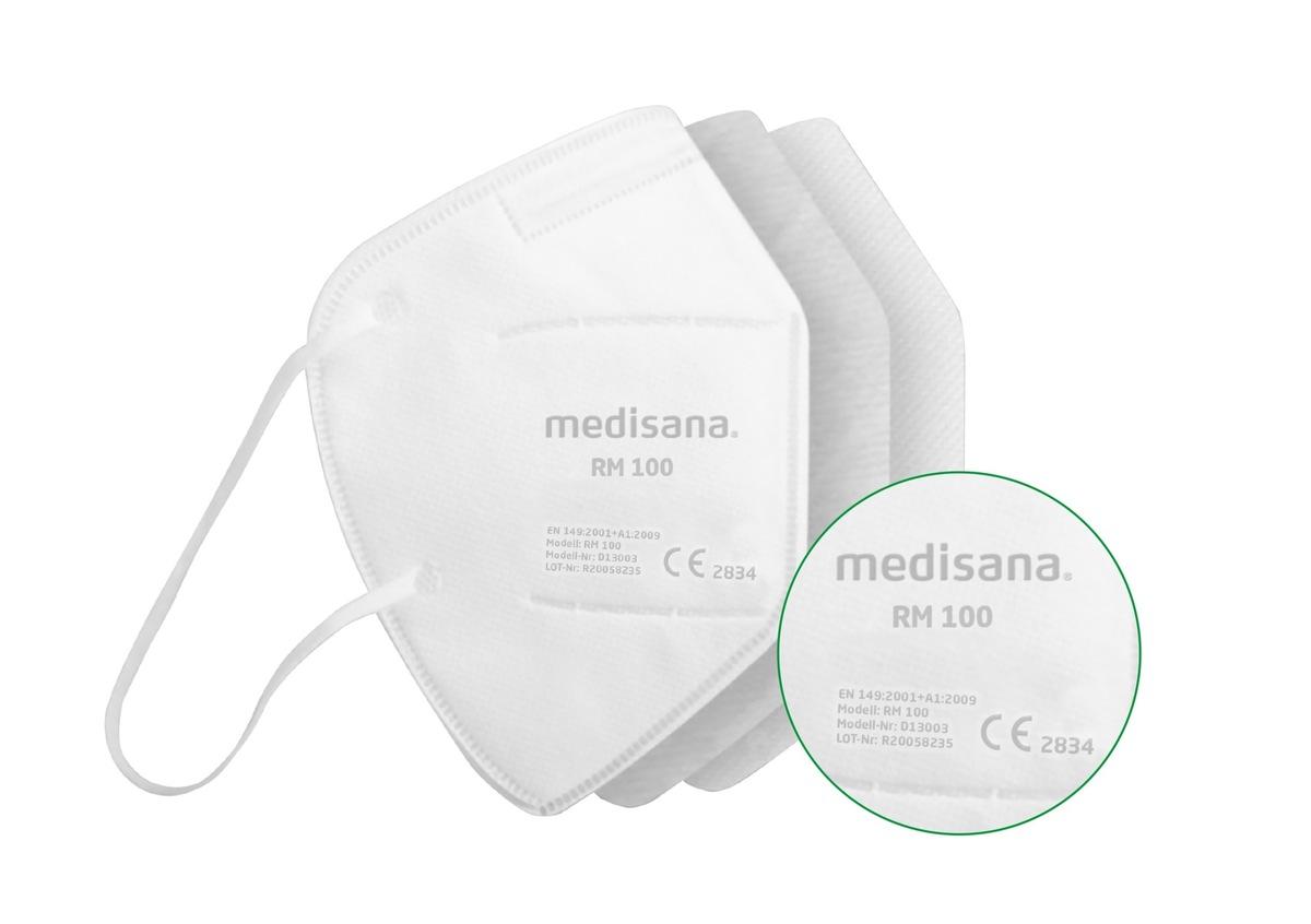 Zertifizierter Atemschutz: Neusser Unternehmen medisana ...
