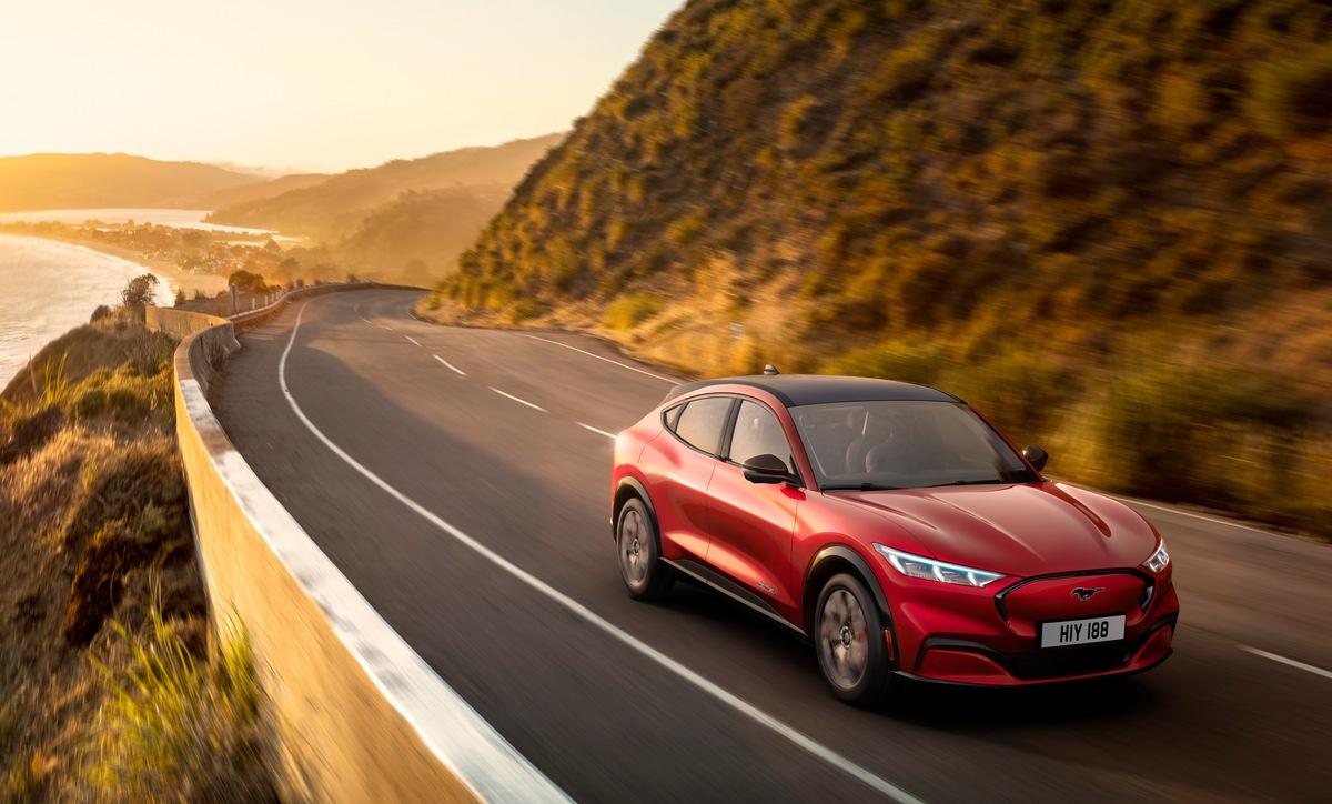 Cloud-Verbindung sorgt dafür, dass Software des neuen Ford Mustang Mach-E stets aktualisiert wird