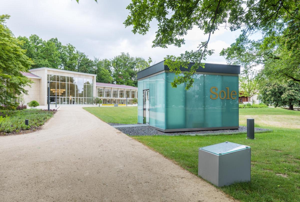 Pressetext: Neue Wandelhalle in Bad Salzuflen gewährt ...