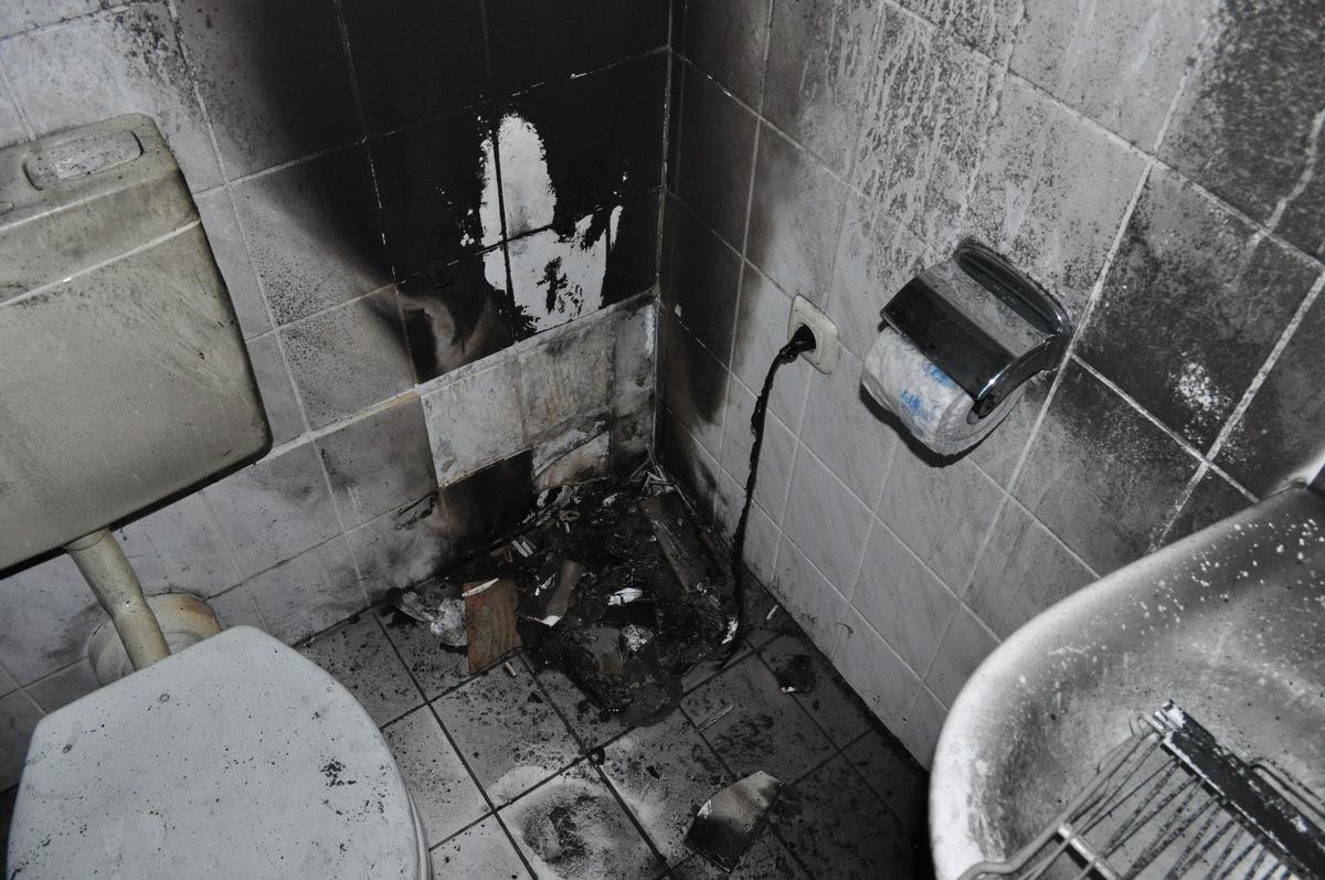 ▷ POL-NI: Heizlüfter verursacht Brand im Badezimmer  Presseportal