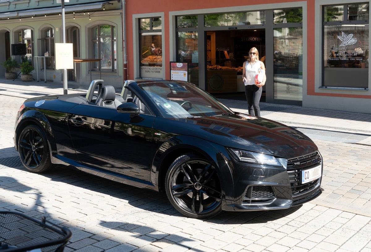 Cabrio: Parken mit offenem oder geschlossenem Verdeck