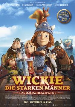 WICKIE UND DIE STARKEN MÄNNER – DAS MAGISCHE SCHWERT ab 2. September 2021 im Kino!