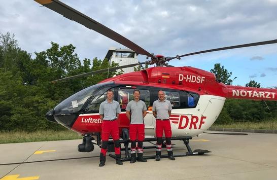 DRF Luftrettung fliegt 1.000.000sten Einsatz / Mehr als eine Zahl: Luftretter erzählen persönliche Geschichten
