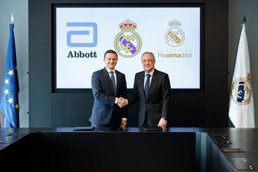Abbott und Real Madrid arbeiten zusammen, um Gesundheit und Ernährung von Kindern zu fördern