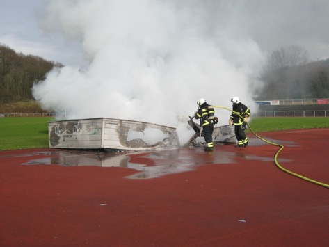 FW-MK: Brandeinsatz am Hemberg