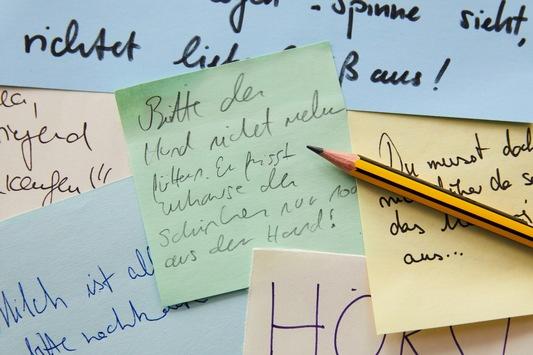 Zum Tag der Handschrift: Ich schreib' das mit der Hand!