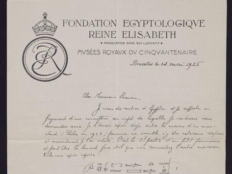 Nachlass des Ägyptologen Adolf Erman jetzt online verfügbar