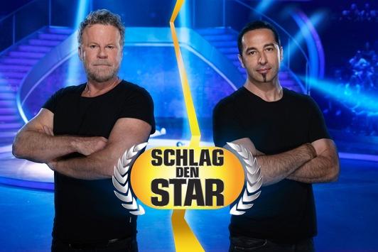 """Rockige Lederjacke gegen Heavy-Metal-Matte: Jenke von Wilmsdorff tritt gegen Bülent Ceylan an bei """"Schlag den Star"""" am Samstag, 17. Juli, live auf ProSieben"""