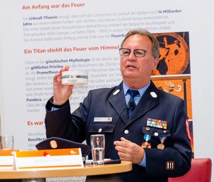 Rauchmeldertag am Freitag, den 13. August in der neuen Feuerwehrerlebniswelt in Augsburg