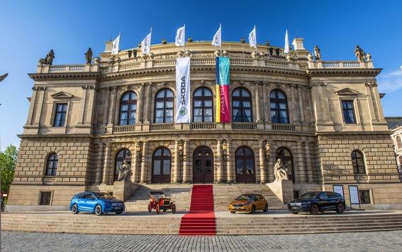Benefizkonzert von ŠKODA AUTO und Tschechischer Philharmonie zur Unterstützung der Hinterbliebenen von Opfern der COVID-19-Pandemie