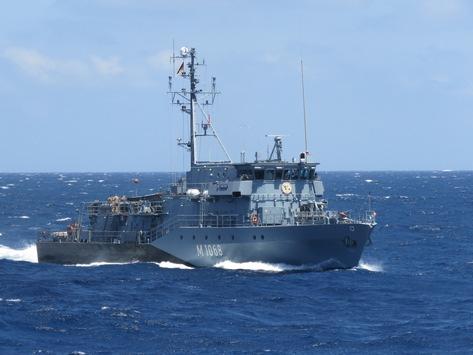 Kieler Minenjagdboote lösen sich im NATO-Einsatzverband ab