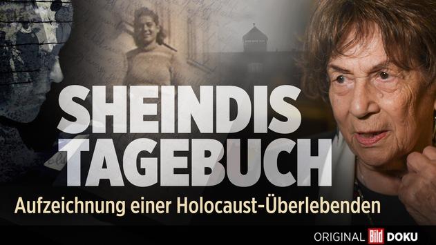 """BILD Doku """"Sheindis Tagebuch – Aufzeichnungen einer Holocaust-Überlebenden"""" bei den New York Festivals TV & Film Awards mit Gold und Bronze prämiert / Am 13. Oktober 2021 um 21.10 Uhr bei BILD im TV"""
