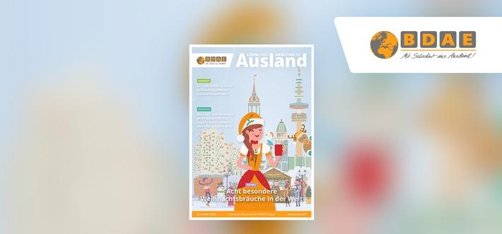 """So feiert die Welt Weihnachten: Dezember-Ausgabe vom BDAE-Journal """"Leben und Arbeiten im Ausland"""" jetzt online"""