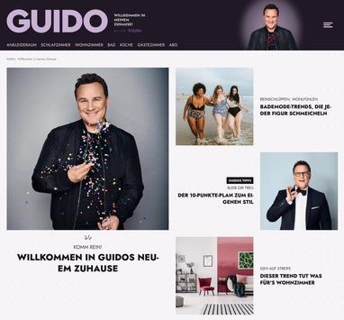 GUIDO und GUIDOS DEKO QUEEN: jetzt auch digital auf www.guidomariakretschmer.de