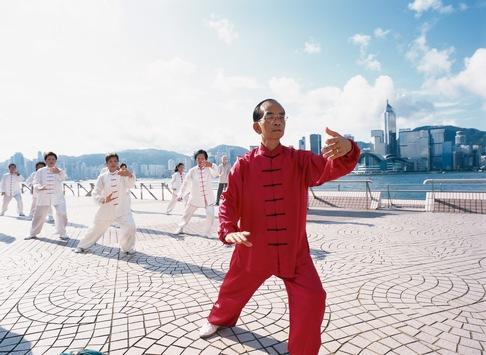 Tai Chi und Qigong in Hongkong