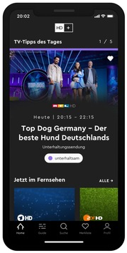 Das beste HD+ aller Zeiten nun auch für unterwegs: / Am 29. September 2021 startet HD+ ToGo