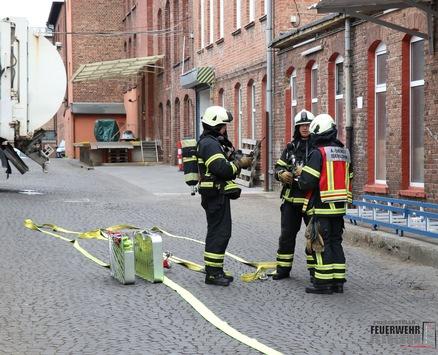 FW-MK: Gasaustritt an der Gürtlerstraße